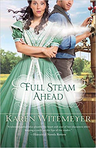 Book Review: Full Steam Ahead by Karen Witemeyer